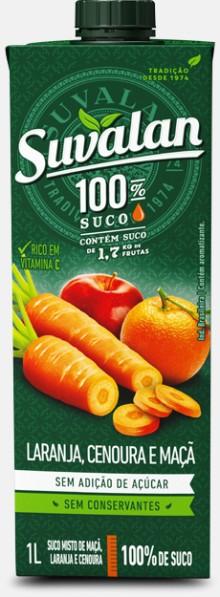 Laranja, Cenoura e Maçã